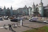 Площа Білоруського вокзалу: фото, розташування, опис